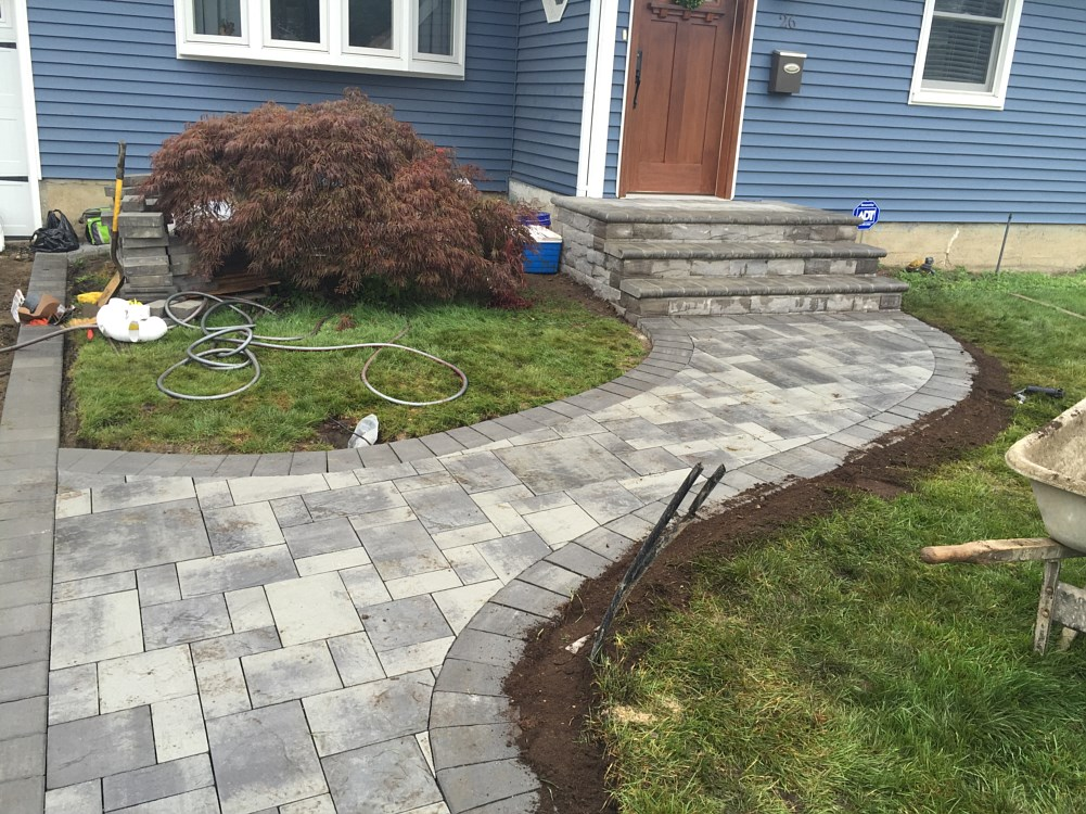 Concrete Walkways Hicksville | Brick Pavers Jericho